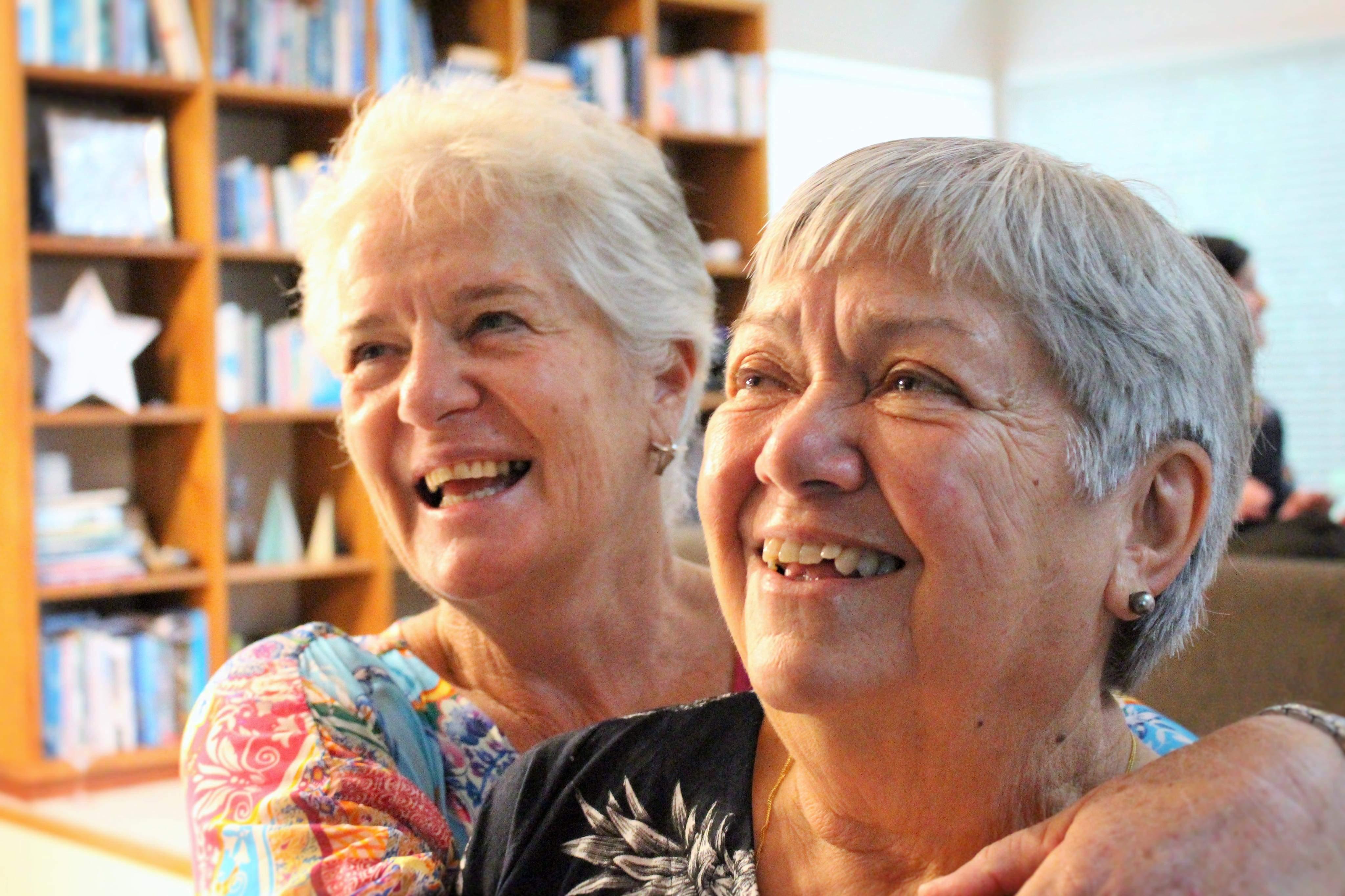 Jill Chrisp and Karen Johansen