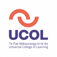 The Universal College of Learning logo